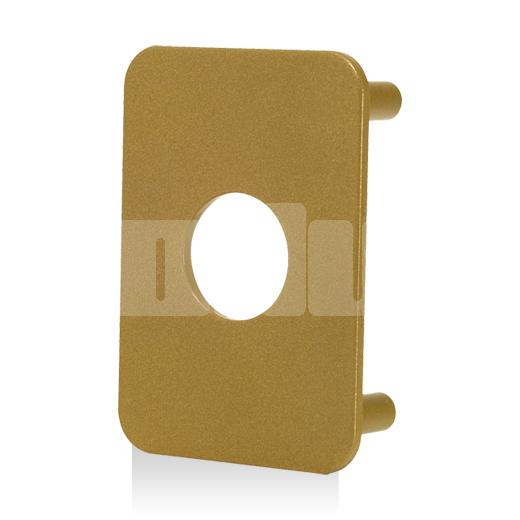 Contre plaque bouclier de verrou type A2P*