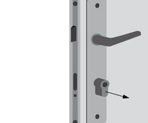 Changer votre cylindre de serrure en 2 étapes simples